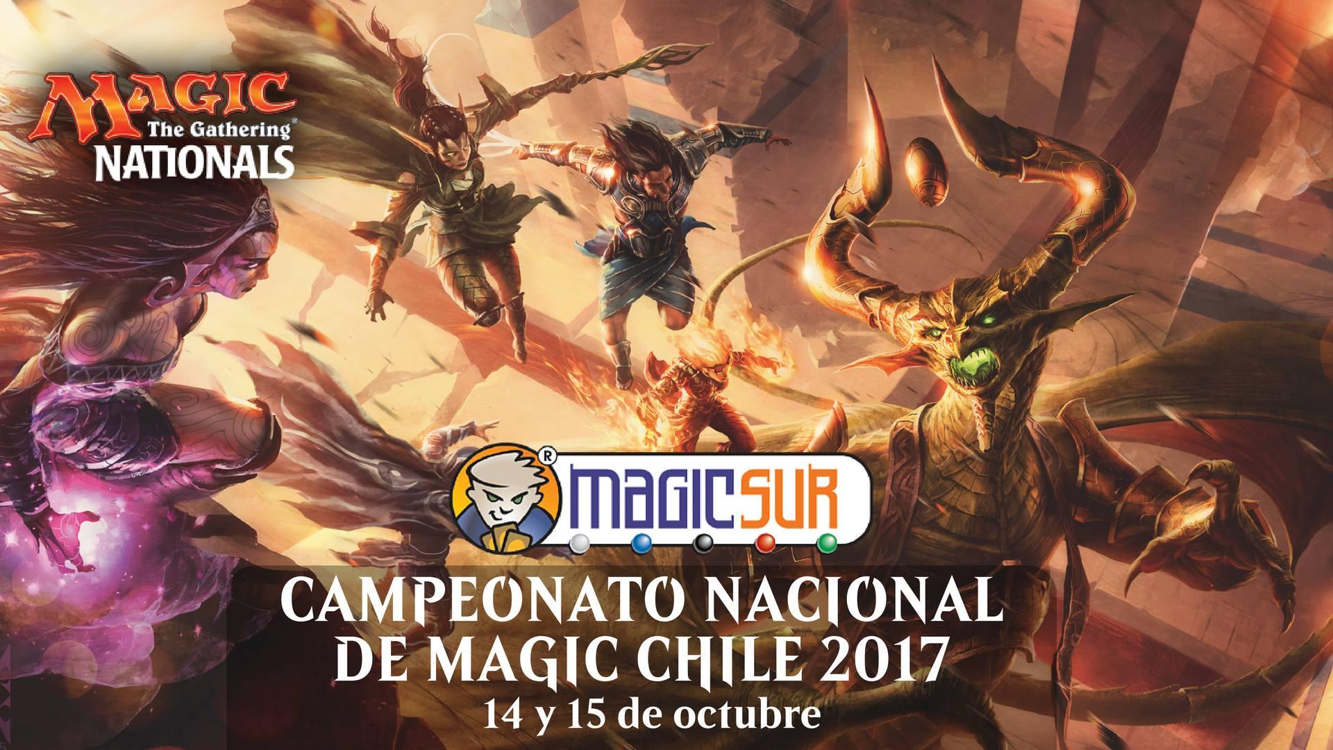 Información General del Campeonato Nacional de Magic de Chile 2017