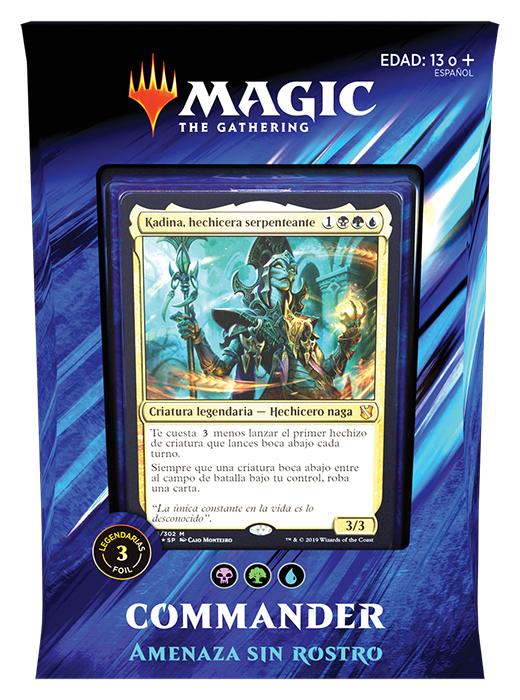 Faceless Menace (Kadena, Slinking Sorcere) Colores: Azul, Negro Y Verde - Preventa