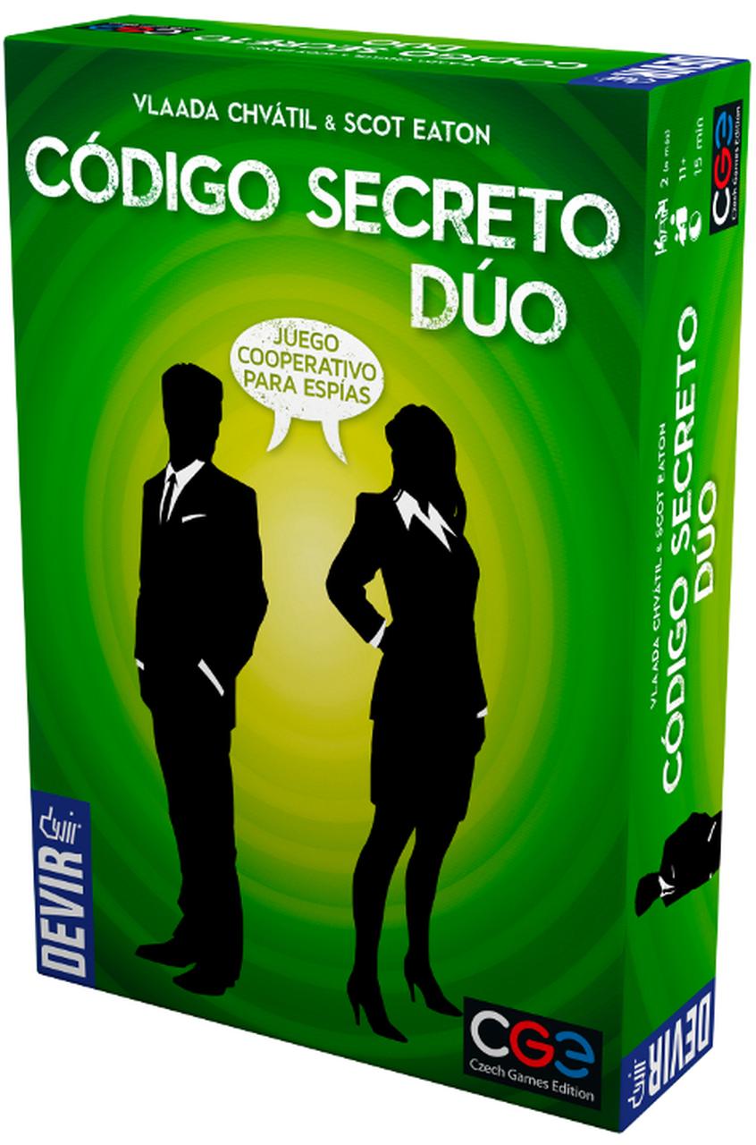 Código Secreto Dúo - caja