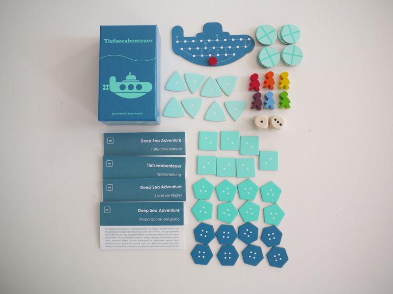 materiales de Deep Sea Adventure