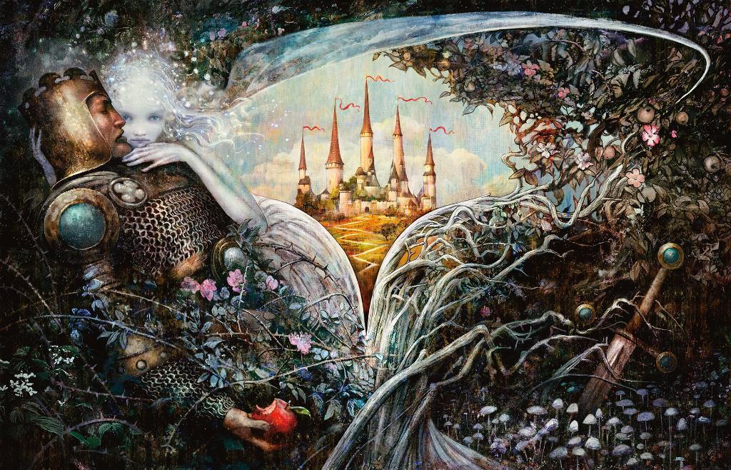 EL fabuloso arte de la expansión de Magic: El Trono de Eldraine